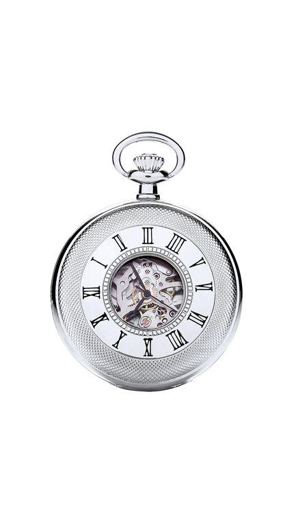Royal London mechanical pocket watch & chain