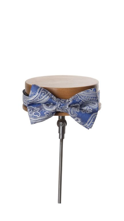 Come together paisley bow tie