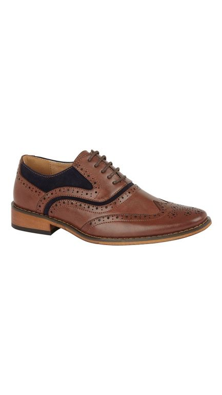 Brogue shoes - 2 tone - boys