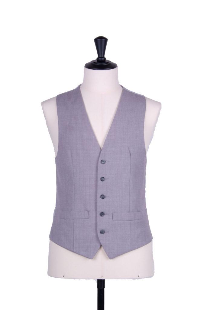 Anthony Ascot grey SB waistcoat